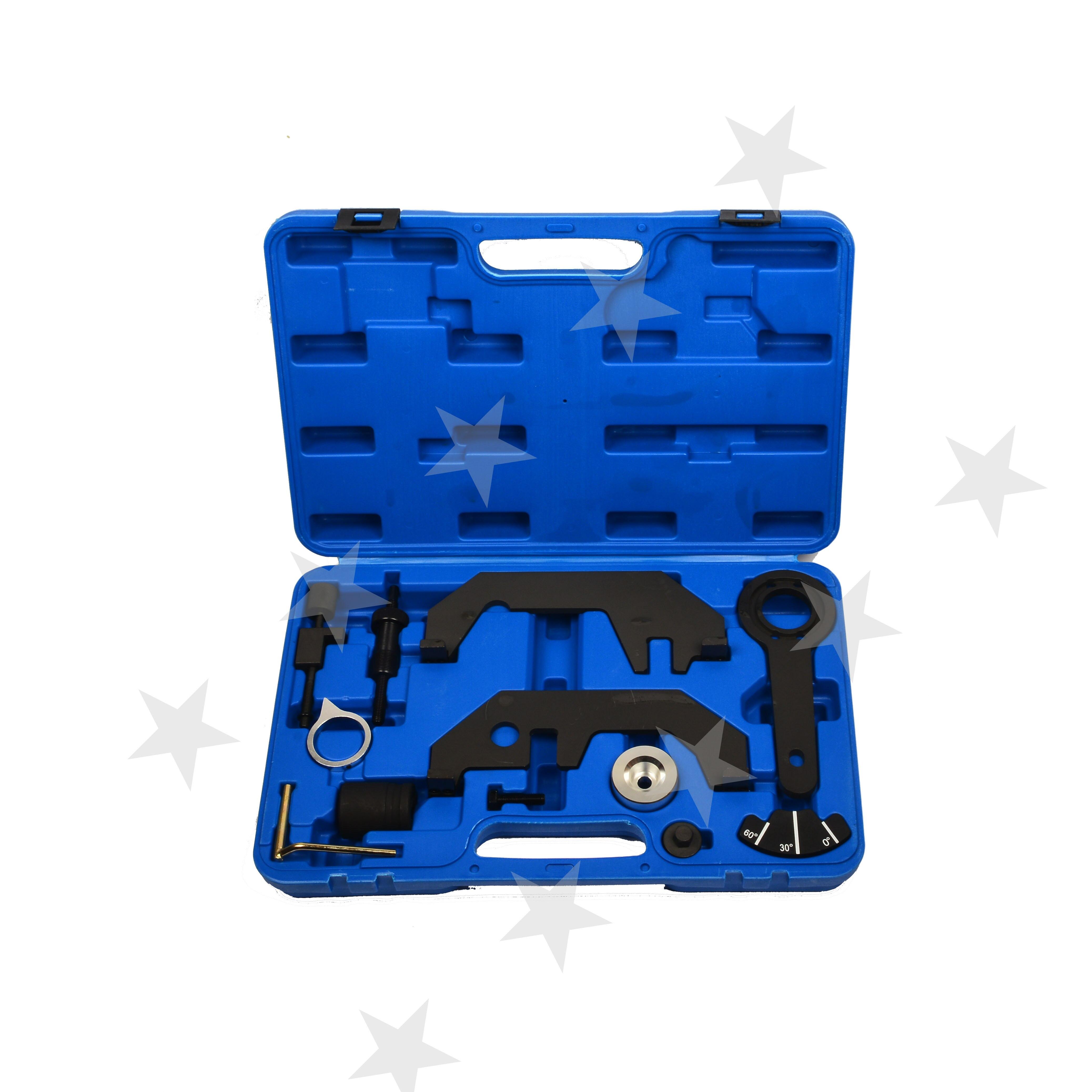Kit d'outils maître de distribution de vilebrequin d'arbre à cames d'alignement de moteur pour BMW N62/N73