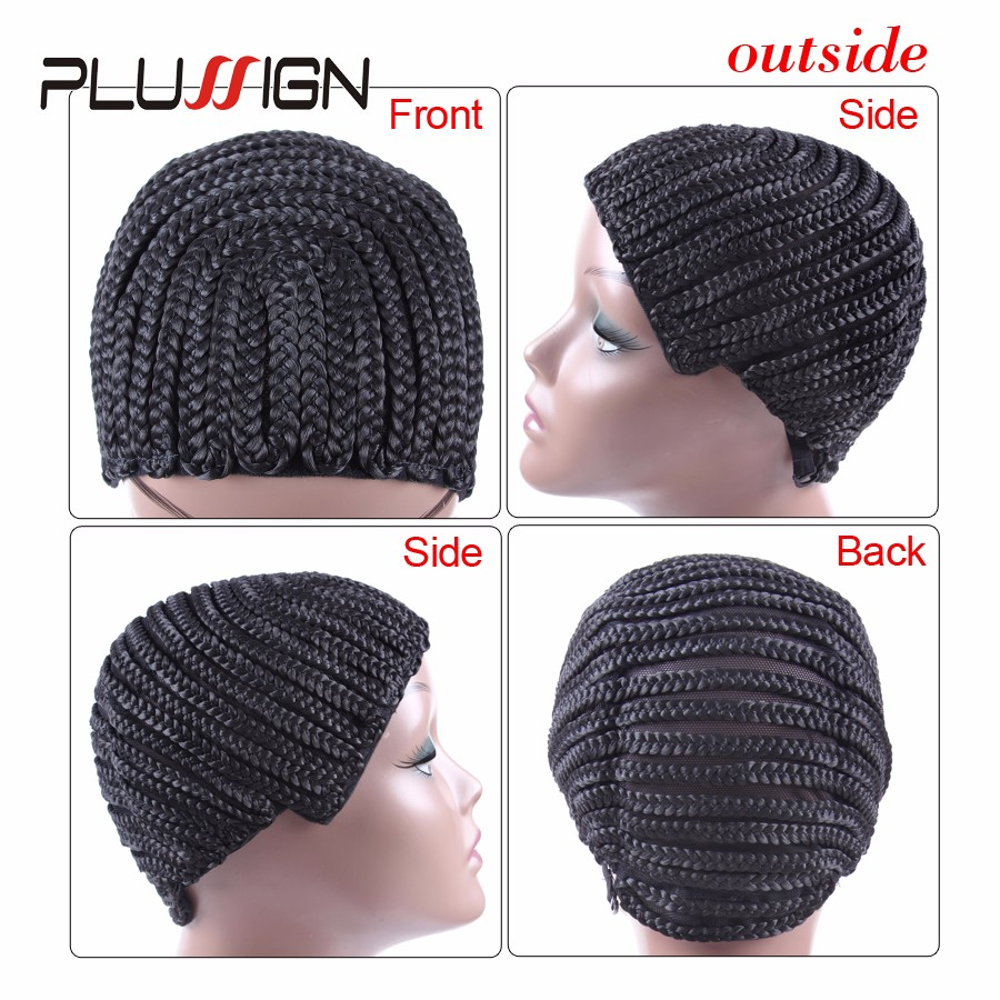 Wholesale 10pcs Braided Cap For Crochet Braids Or Hair Weaves