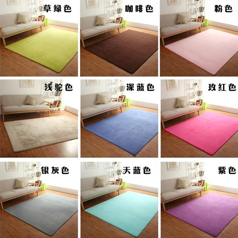 Household Area Rug 200*300CM Large Size Non-slip Floor Mat Carpets For Living Room Decorate Carpet Bedroom Comfortable Soft Rugs