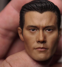 Custom 1/6 Scale Lee Byung-hun T1000 Head Sculpt For Hot Toys Figure Body for 12 Action Figure doll Toys soldier model цена