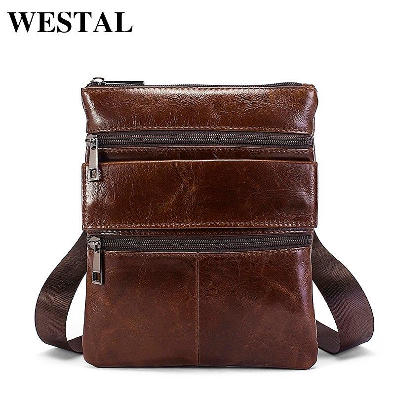 222c68202f21 WESTAL сумка мужская мини сумка мужская натуральная кожа сумки мужские  маленькие сумка через плечо мужская МНОГОФУНКЦИОНАЛЬНЫЙ