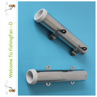 A Pair Removable Fishing Rod Holder Stainless Steel 304 Clamp Rod Holder For Rail 1 1