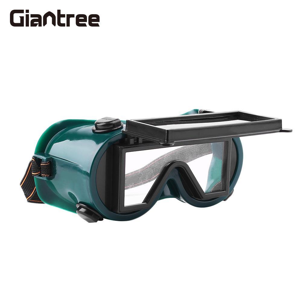 Solar Auto Darkening Shade Glare Shield Safety Protective Welding Goggles