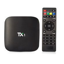 Android tv box Quad-Core 1 GB/8 GB Smart Tv DLNA 1080 P H.265 HD Reproductor de Medios remoto control TX1 Vensmile S805 Amlogic