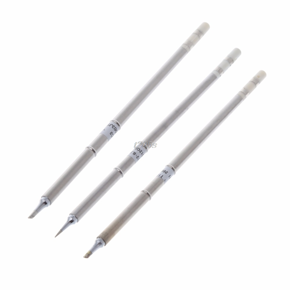 T12-BC2 T12-ILS T12-BCM2 Iron Tips For Hakko Soldering Rework Station FX-951 FX-95 Solder Tips T12 Drop ship szbft t12 bc1 bc2 bc3 soldering iron tips soldering sting series for hakko soldering rework station fx 951 fx 952