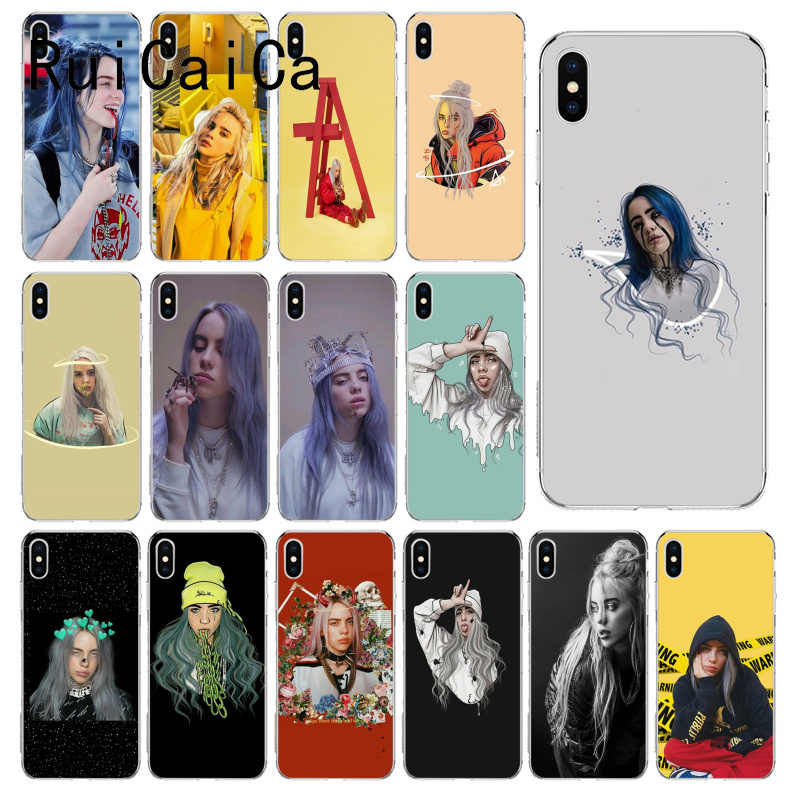 RuiCaiCa Billie Eilish Khalid TPU Soft Rubber Phone Cover for iPhone X XS MAX 6 6S 7 7plus 8 8Plus 5 5S XR 10 Case