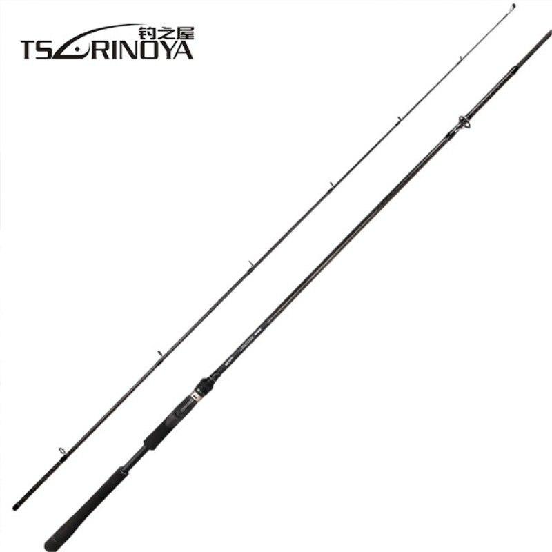 Tsurinoya TIRANNI 2.4 m 2.7 m 3.0 m 3.3 m Spinning Canna Da Pesca MH/M Alimentazione MF FUJI Guida anello di Canna Peche Mare Canna Canna Da Pesca Alimentatore