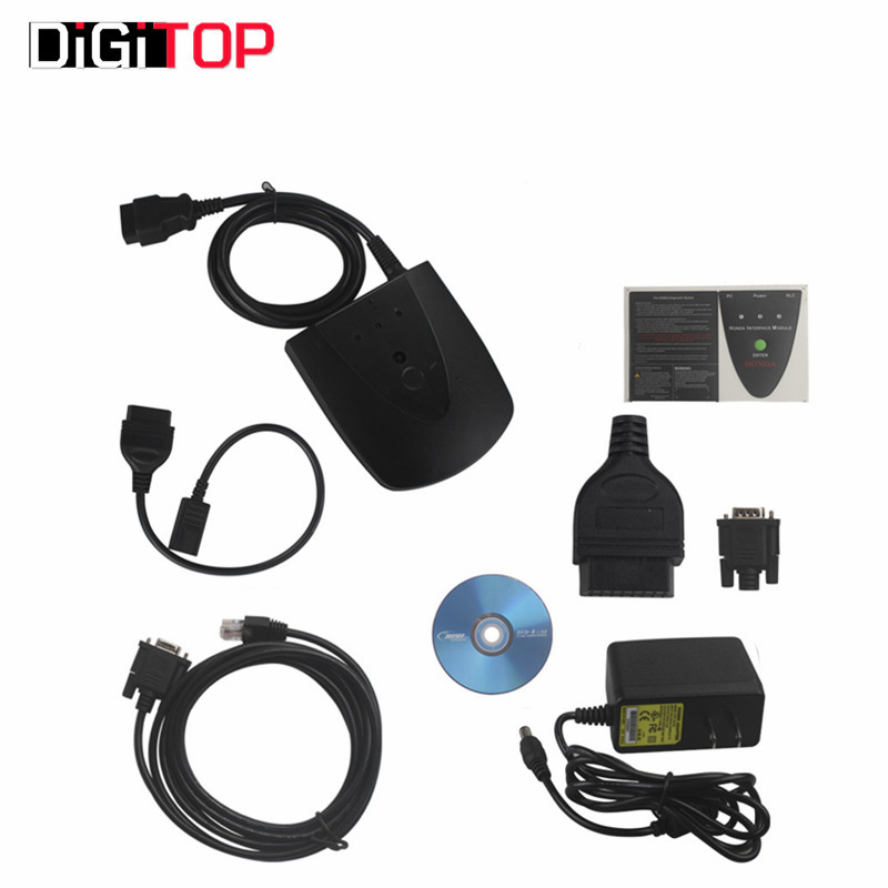High Quality Newest Version V3.101.015 For Honda HDS HIM Diagnostic Tool with Double Board Fast Shipping