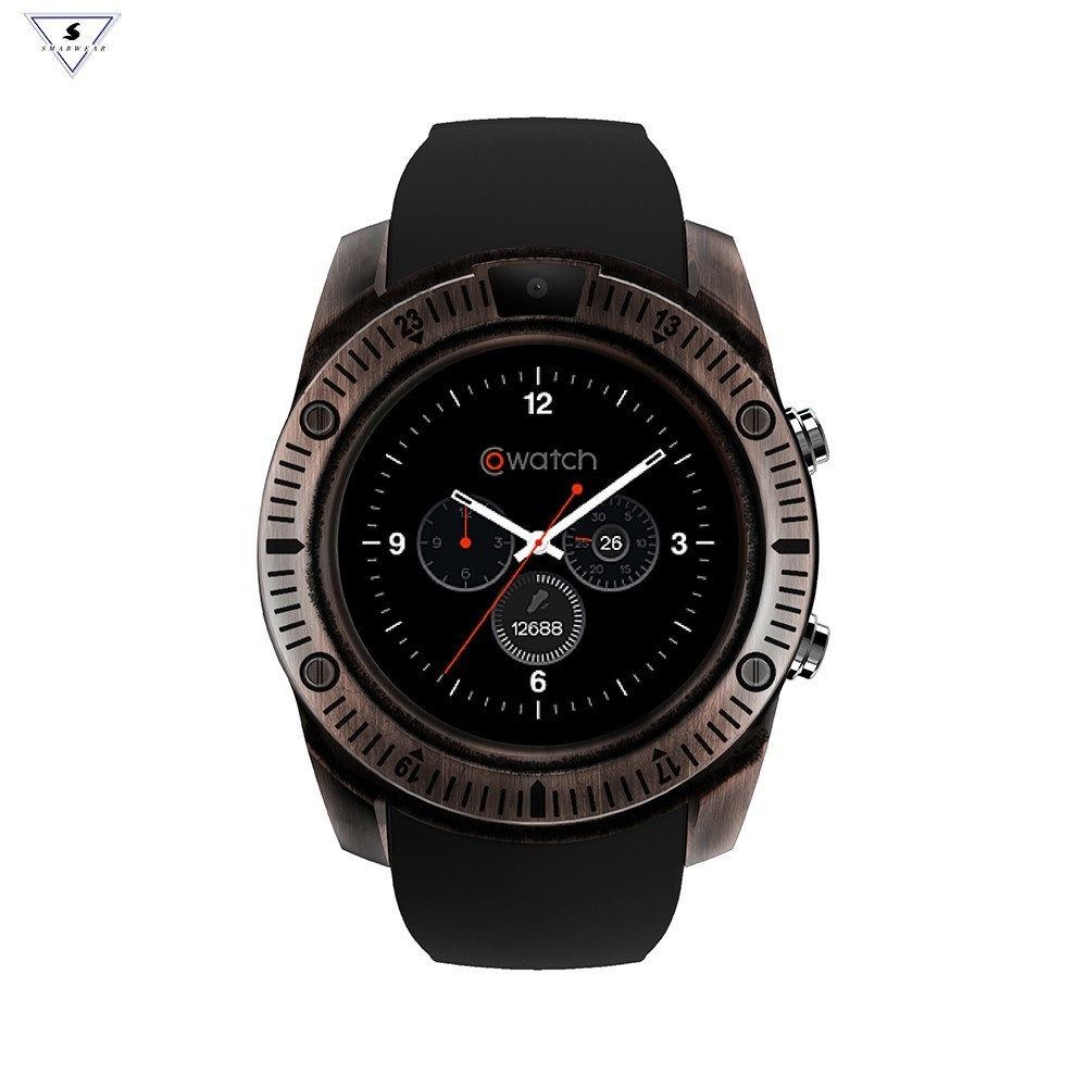 Bluetooth Smart Watch Retro With Touch Screen Big Battery Support SIM SD Card Antique Smartwatches For IOS iPhone Android Phone