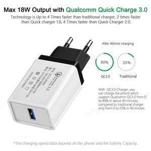 Image 2 - 5V 3.5A QC3.0 Universal Fast charging Phone Charger for iphone XS HuaweITravel Charger Wall Adapter for Xiaomi Samsung tablets