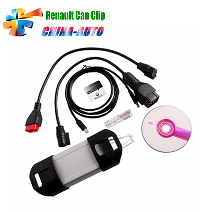 2018 Latest V168 Version Renault Can Clip Diagnostic Interface Support Multi languages For Renault with Best