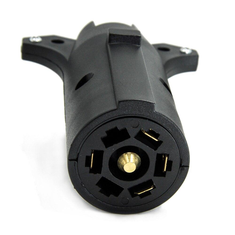 TIROL 7 Way Pin RV Blade To 5 Way Flat Trailer Wiring Adapter ...