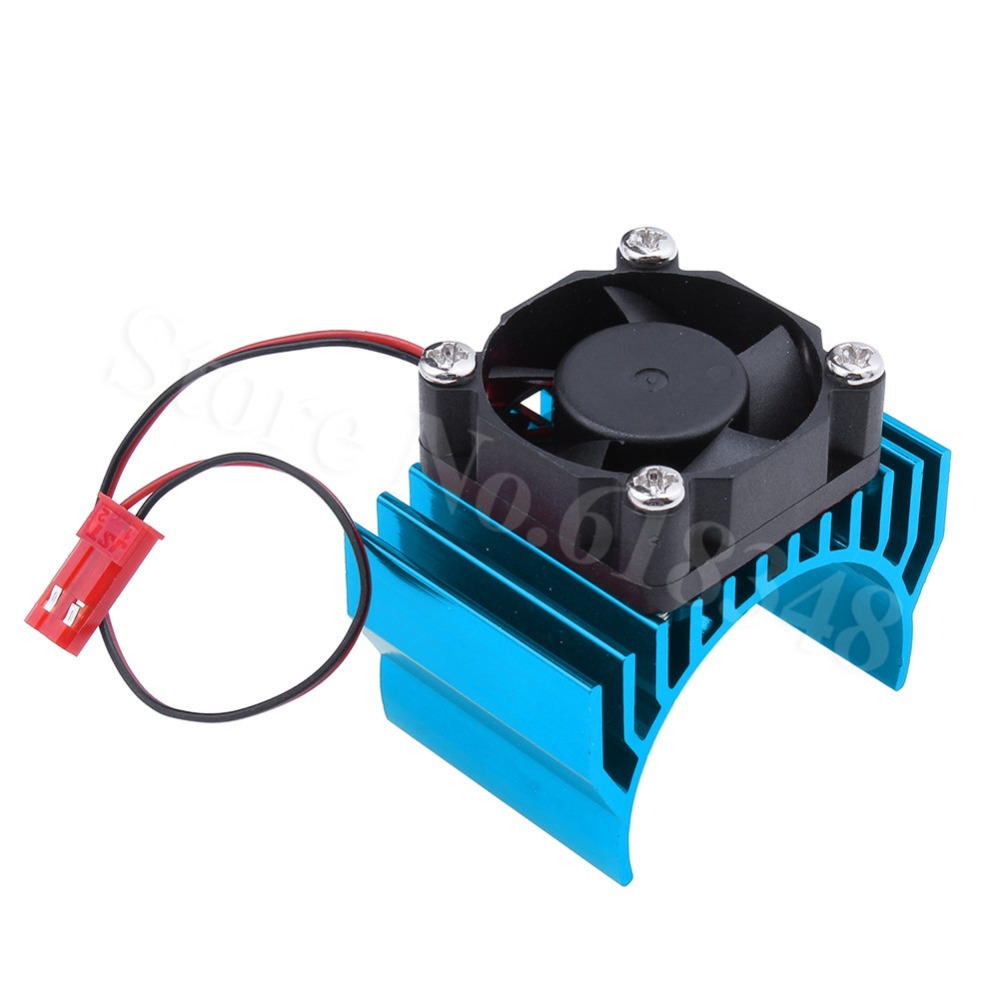 RC parts Electric 03300 550 540 Heat Sink Modified Motors With Cooling Fan For Hobby Car Stock flower ridge north bridge heat sink aluminum zero total compatible with fan noise