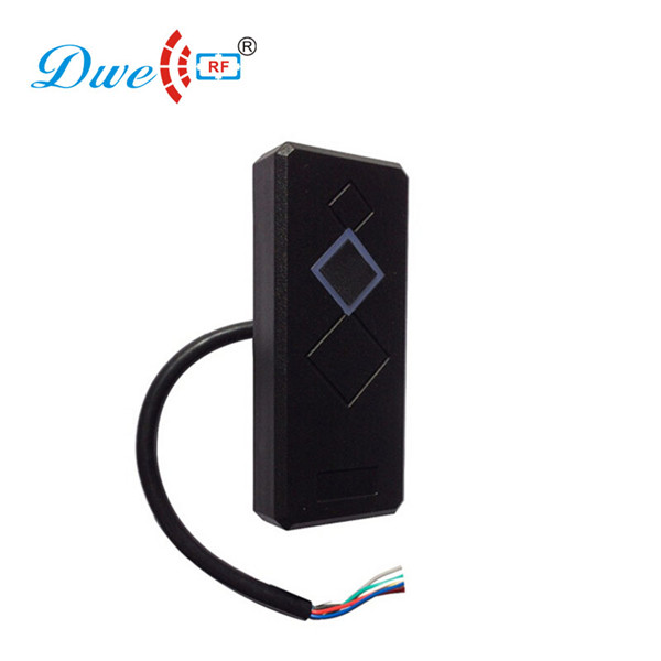 DWE CC RF RS232 125khz rfid access control id card reader from card reader factory high quality proximity rfid card reader without keypad rs232 access control rfid reader door access card reader customized rs232
