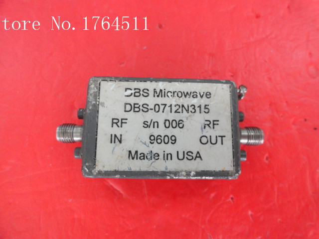 [BELLA] NARDA DBS-0712N315 12-15V SMA supply amplifier[BELLA] NARDA DBS-0712N315 12-15V SMA supply amplifier