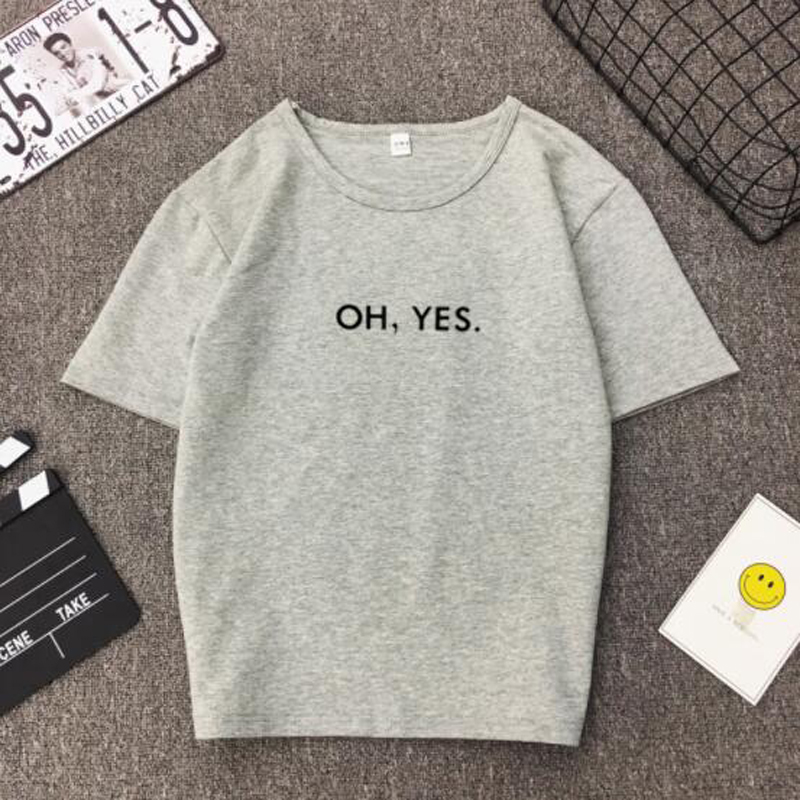 Spring Summer New Woman   T  -  shirt   Fashion Letters Print Short Sleeve O Neck Cotton Spandex Women Tops Casual Loose   T     shirt   Women