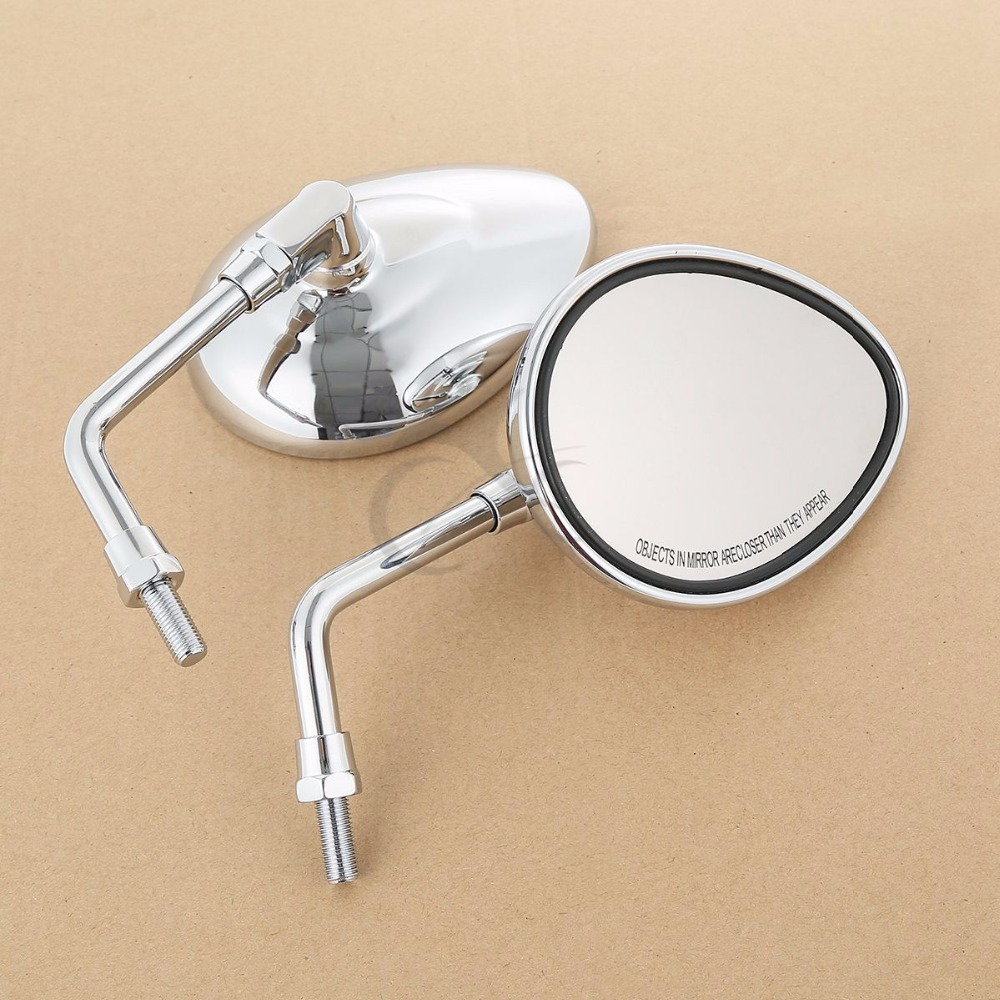 Image 2 - Motorcycle 10mm Chrome Rear Side View Mirror For Indian Chief Chieftain 2014 Up Roadmaster 2015 2017 Scout 2015 2016 Dark Horse-in Side Mirrors & Accessories from Automobiles & Motorcycles