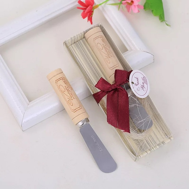 50pcs Lot Wholesale Butter Knife Bridal Shower Giveaways Birthday Return Gifts Anniversary Souvenir Wedding Favors
