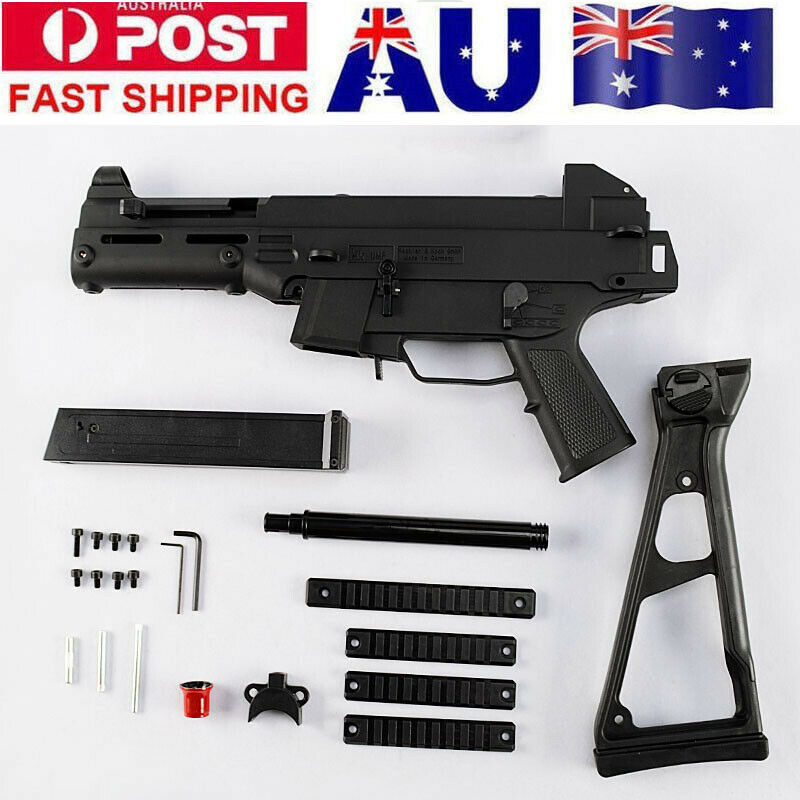 ZhenDuo Toys Nylon HK UMP9 Gel Ball Blaster Receiver Shell Kit Fit Gen8 M4A1 Gearbox AU Stock