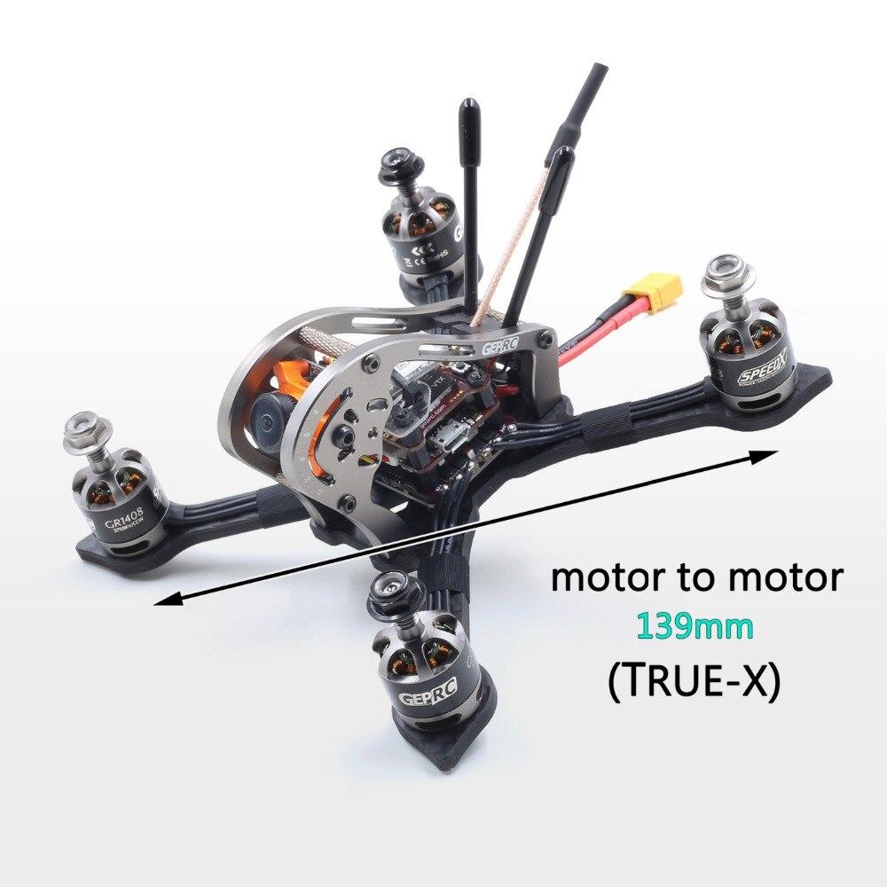 Gerpc PNP BNF Drone MX3 moineau GEPRC GEP-MX3 139mm Fiber de carbone 3mm bras FPV cadre de course avec Runcam