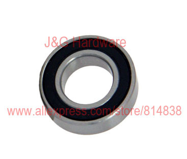6801 2RS Bearing 12x21x5 Shielded Ball Bearings 100 pieces