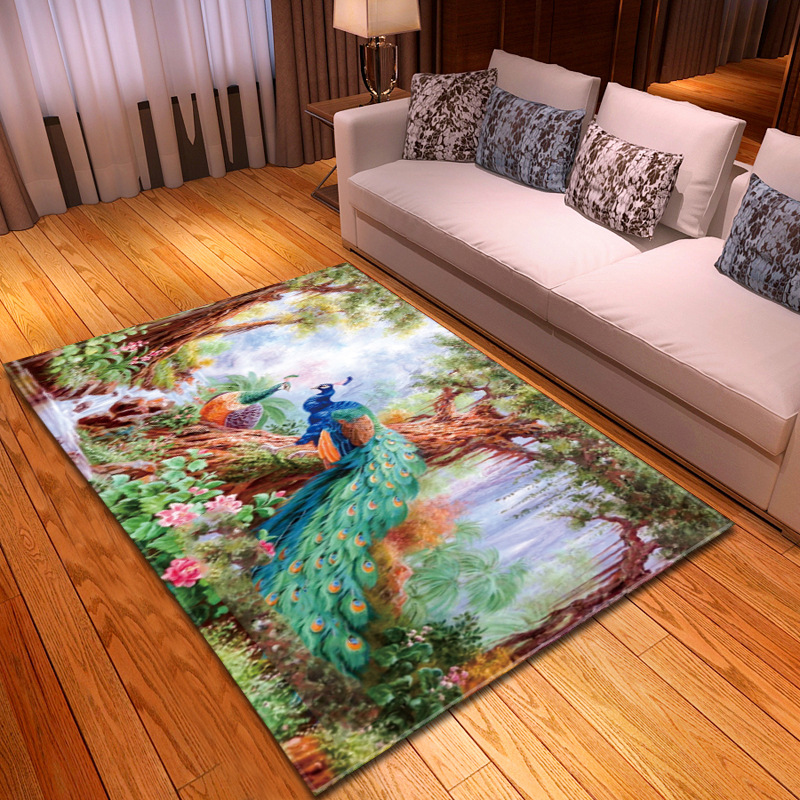 Us 22 4 30 Off Dream Pea Pattern Carpet Living Room Rug Child Decoration Soft Carpets Baby Crawling Anti Slip Mat Bedroom Area Rugs In
