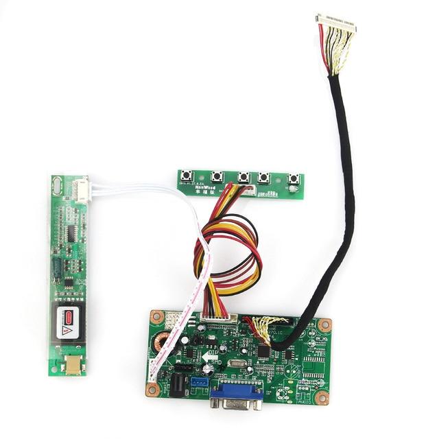 VGA Плата Для LP154WX4-TLC1 B154EW08 LCD/LED Driver Управления Совет 1280x800 LVDS Монитор Повторное Ноутбук