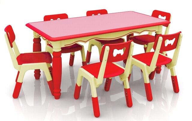 Tavoli E Sedie In Plastica Per Bambini.Nuovo Regolabile In Altezza I Bambini Di Plastica Non Tossico Per Bambini Tavolo E Sedie Tavolo Asilo Colorato Ch2602