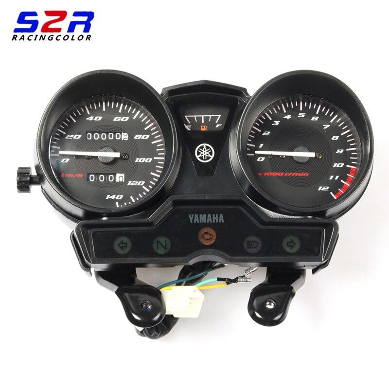 オートバイヤマハ YBR125 YBR YB 125 18K YBR125K スピードメーターメーターゲージモトタコ楽器なしギアモニター  グループ上の 自動車 &バイク からの 楽器 の中 1