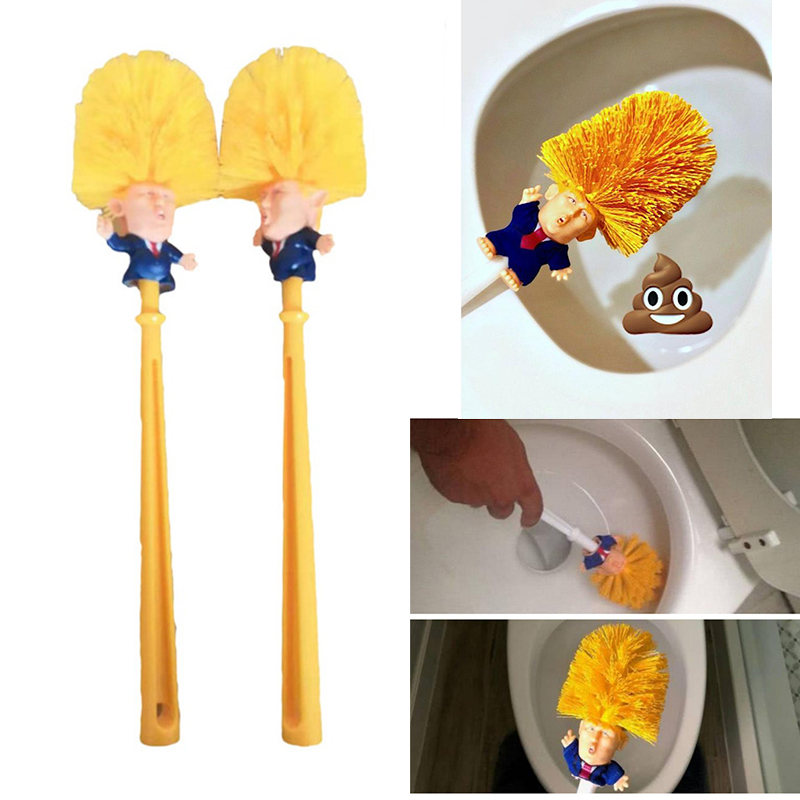 Toilet Brush Holders WC Emmanuel Macron Original Trump Toilet