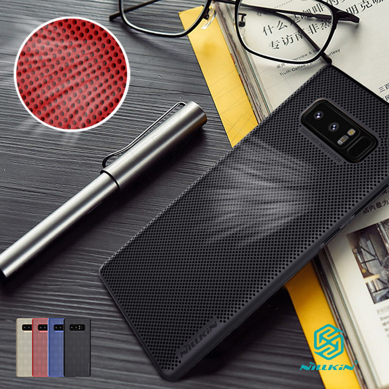 note 8 cover 6.32 Nillkin Lightweight heat release dissipation phone case for samsung galaxy note 8 case air feel thin cover