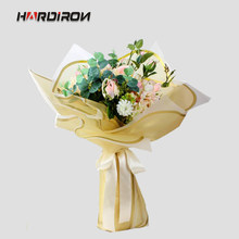 HARDIRON Line Bouquet Wrapping Paper Translucent Paper Florist Supplies Flowers Wrapping Paper Material Flower Shop Goods(China)
