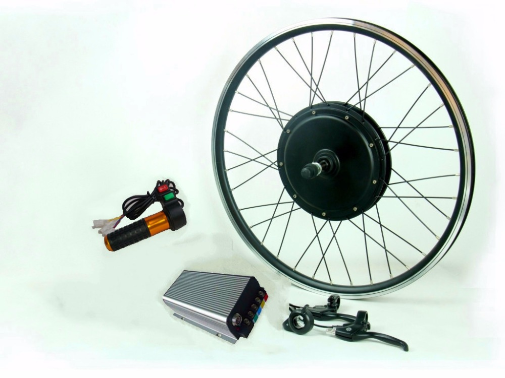 120Kph 96V 3000W electric bike conversion kit with 45H magnets 3000W motor sine wave controller for