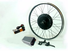 120Kph 96V 3000W  electric bike conversion kit with 45H magnets 3000W motor,sine wave controller for rear electric bicycle