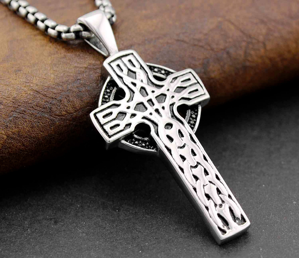 Buy stainless steel celtic cross and get free shipping on buy stainless steel celtic cross and get free shipping on aliexpress mozeypictures Choice Image