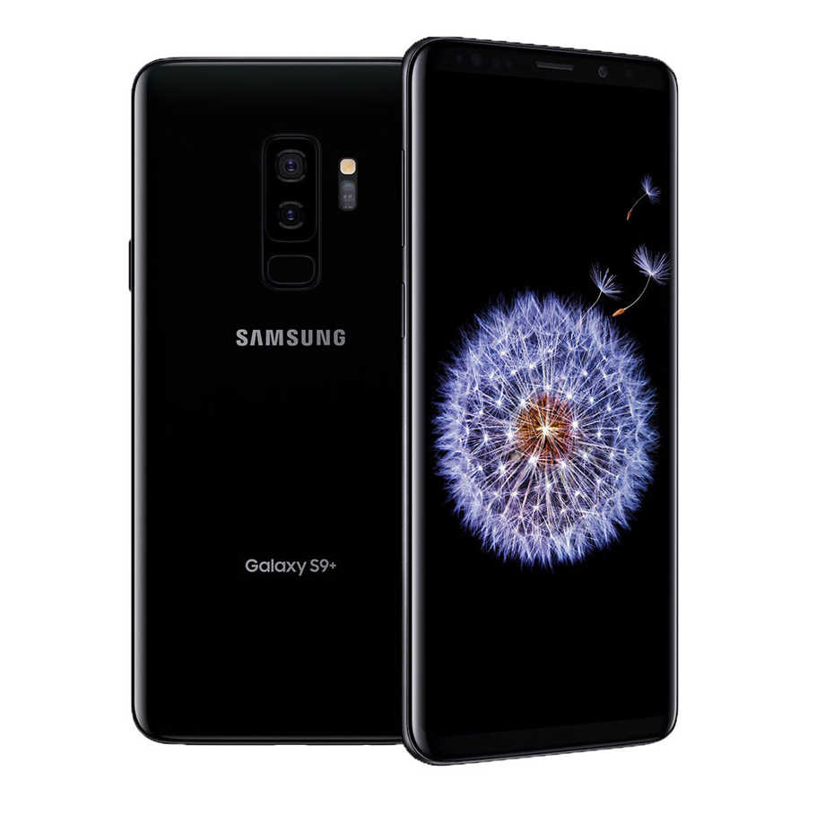 """サムスンギャラクシー S9 + S9 プラス G965U ロック解除 4 3g の Android 携帯電話オクタコアキンギョソウ 845 6.2 """"デュアル 12MP RAM 6 ギガバイト ROM 64 ギガバイト NFC"""