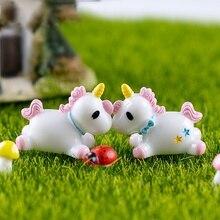 Mini Decorative Unicorn Figurine