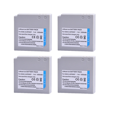 4 шт. 1000 мАч IA-BP85ST IA BP85ST BP85ST Перезаряжаемые Камера Батарея для Samsung VP-10AH VP-MX10AU sc-hmx10 sc-mx10a sc-mx20l