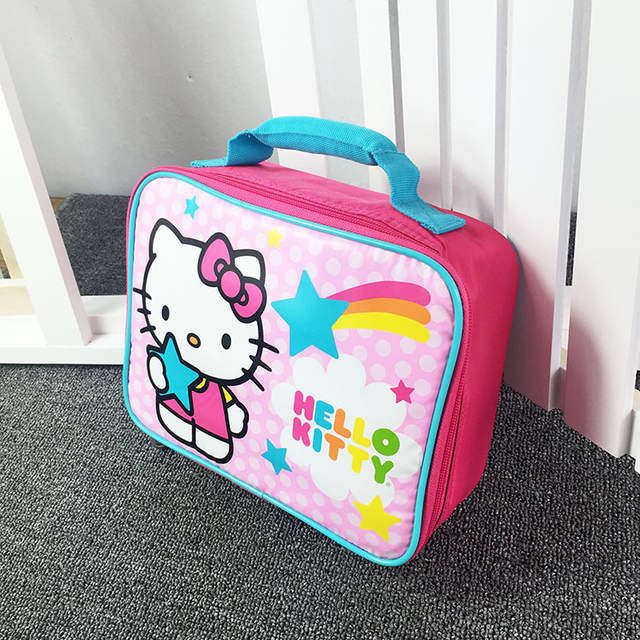 ed9c493d34 Online Shop Cartoon Hello Kitty Ninja Turtle Minion School Insulated Lunch  Bag for Kids Boy Girls Lunch Box Tote Bag Thermal Picnic Food Bag