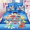 2016 HOT SALE Fashion Bedding Set 3pcs Cartoon Paw Patrol Noble High Quality Bed Linen Bedclothes