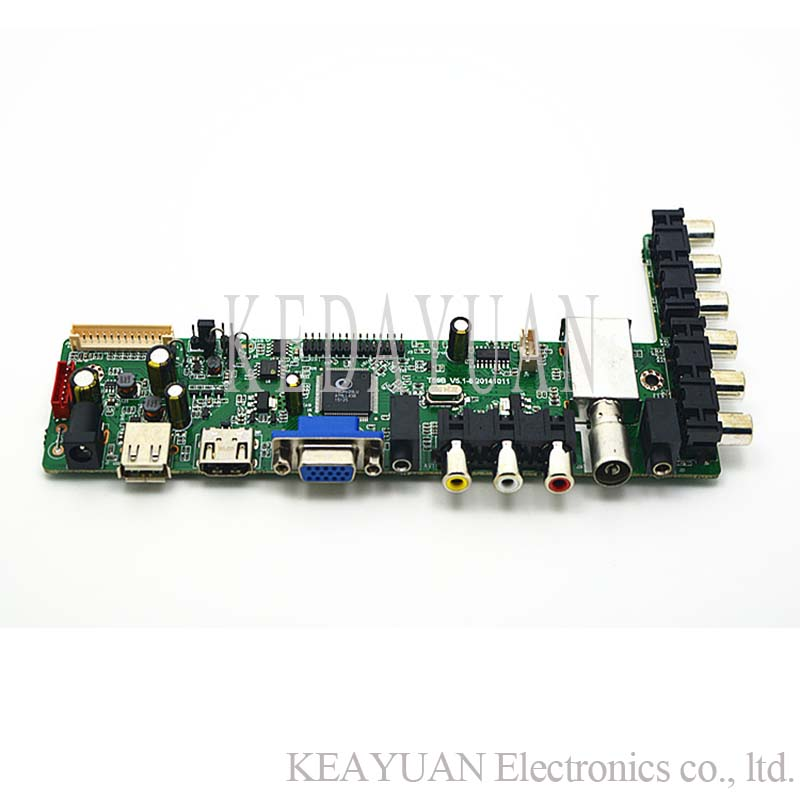 US $14 45 5% OFF|free shipping V59 VS T59B V3 0/V3 2/V3 3/V5 1 LCD LED TV  Controller Driver Board-in Industrial Computer & Accessories from Computer  &