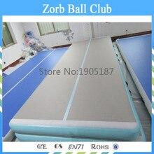 Бесплатная доставка Высокое качество 6 х 1 х 0,2 м надувные тренажерный зал коврик надувной пол воздуха для продажи