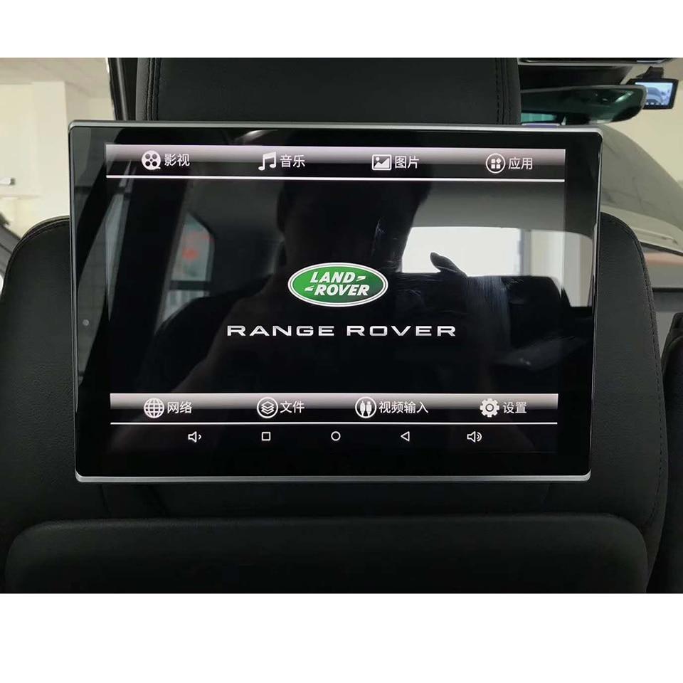 11.8 polegada Android Carro Encosto de Cabeça Monitor de DVD Com Wi-fi Bluetooth Music Video Sistema de Entretenimento Do Banco Traseiro Para Range Rover esporte