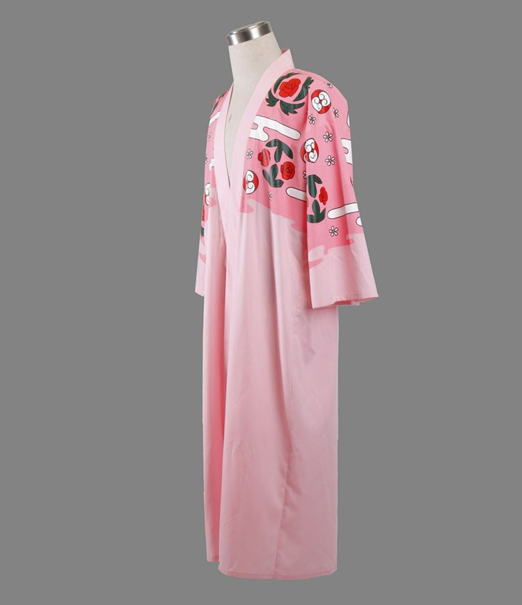 Bleach Captain Kyouraku Shunsui Cape Costume
