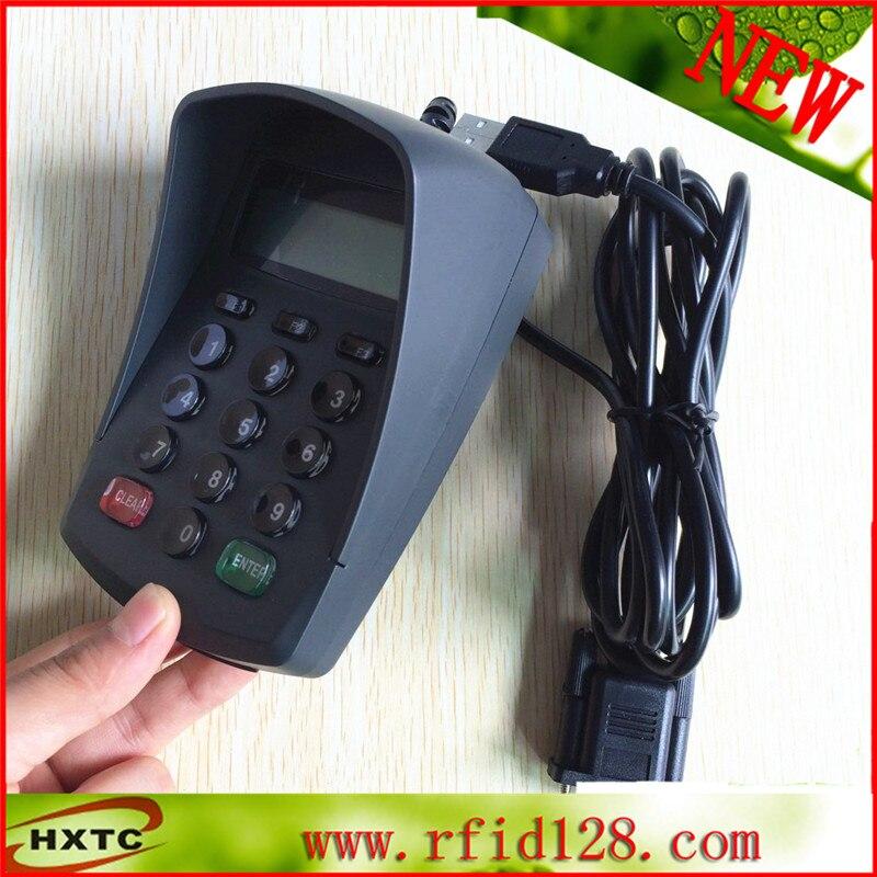(RS232 + USB) Programmable HXTC511DA 15Keys Digital Keyboard / PinPad /Password Keyboard With LCD For POS System usb 15 keys keypad numeric keyboard numpad digital keyboard pin pad with lcd plug and play support pos system