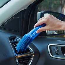 Car Hand Dust Cleaning Brushes Tools for Window Blinds Auto Air Condition Outlet Corners Gap Cleaning Tool Replacement Microfibe