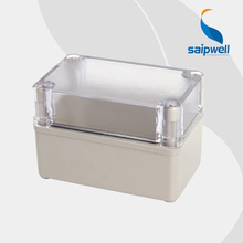 ABS IP65 indoor/out door Light Insulation Corrosion Waterproof Clear Cover Waterproof Electrical  Junction Box