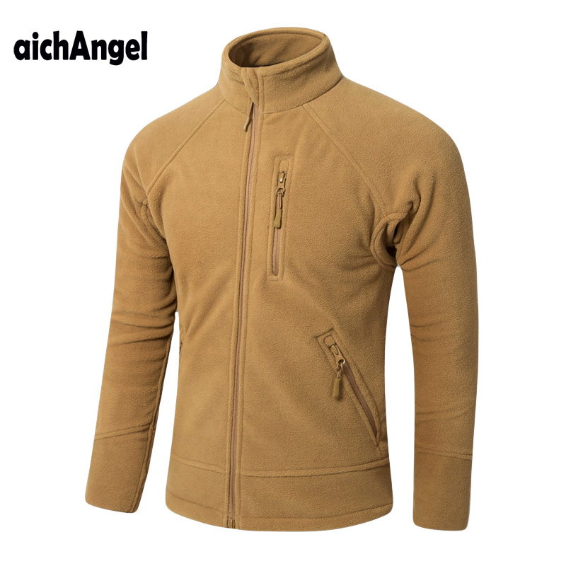 New Arrival Autumn Military Tactical Softshell Fleece Jacket Men US Army Warm Casual Hoodie Jacket