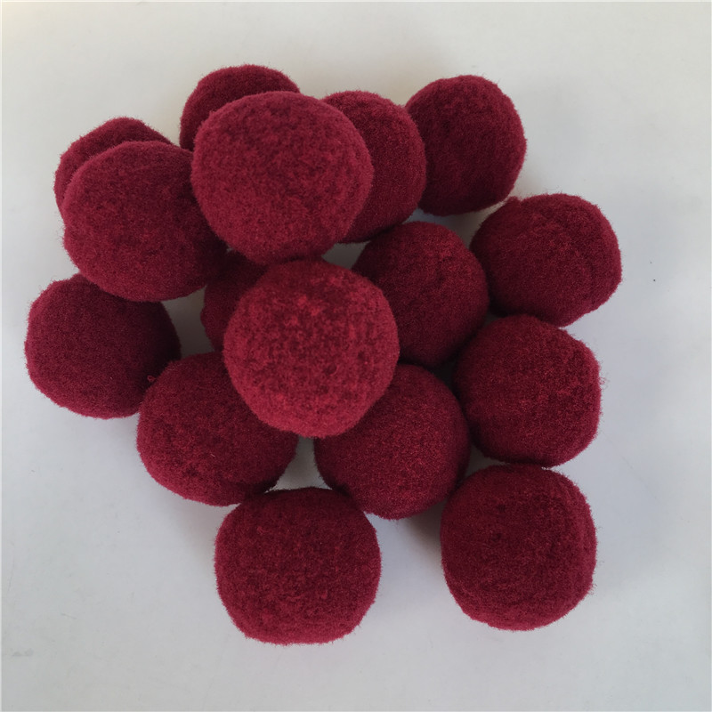 40Pcs lot 30mm Diameter Multicolor Pompon Balls Home Decorative Flower Crafts Toy DIY Wreath Supplies Garment Accessories in Artificial Dried Flowers from Home Garden