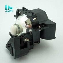 עבור ELPLP33 V13H010L33 עם דיור החלפת מנורת מקרן עבור EPSON EMP S3 EB X72 EB W8 EB S8 EH TW450 EB W7 EB S7